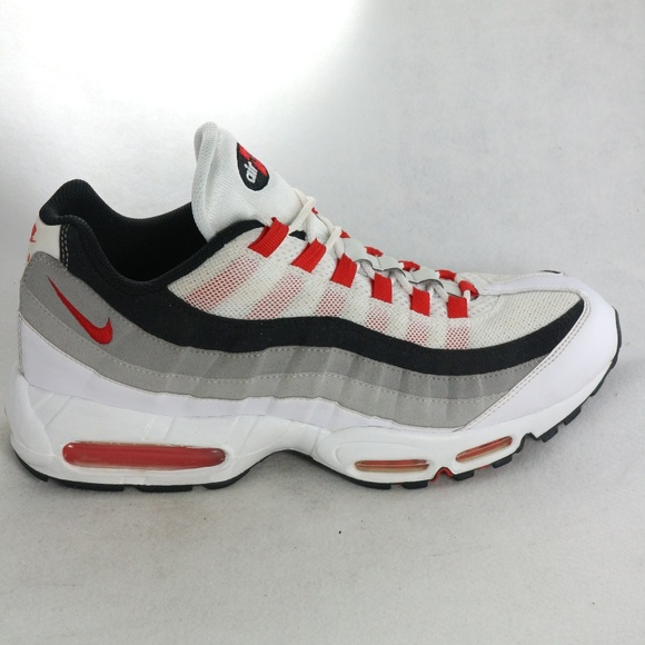 best service 4a97a 81fba Nike Shoes | Rare Air Max 95 Cement Red Sneakers | Poshmark